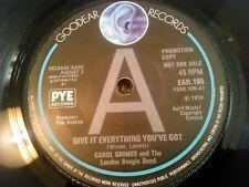 Carol Grimes & The London Boogie Band-Donner tout ce que vous avez 'PROMO' UK