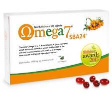 Omega 7 Argousier Faux-nerprun 150 Capsules Végétalien Oméga-3 Ménopause