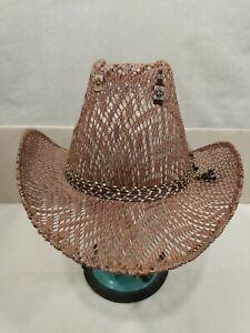 Women's Elegante De Lujo Western Cowboy Cowgirl Hat