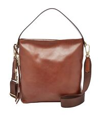 FOSSIL Cross Body Bag Maya Small Hobo Brown