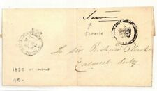 South Africa Cover 1825 CROWN *POST PAID CAPETOWN* Postmark COGH {samwells}AH124