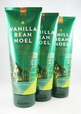 (3) Bath & Body Works Vanilla Bean Noel 24 Hr Moisture Ultra Shea Body Cream 8oz