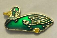 Swimming Duck Lapel tie pin badge hat ducks