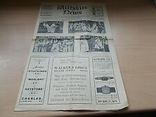 More details for the wiltshire news dated october 3rd 1930 - complete with all pages