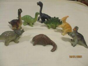 vintage Baby Dinosaurs collection of 8 Safari Ltd c1990