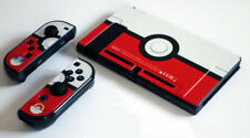 Pokemon Red & White Ball Theme Case for Nintendo Switch System NS console