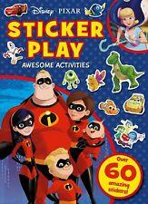 Disney Pixar Awesome Actividades Pegatina Jugar Book. Niños Hogar Actividad