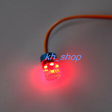 9X15MM LED Flash 360° Rotation Light Red Light For HSP HPI 1:10 RC Police Car
