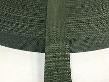 1 Inch CAMO GREEN MilSpec Military Webbing MIL-W-43668 T/3 STD INFRARED Per Yard