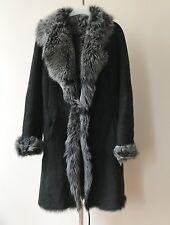 Veste manteau en peau de mouton retournée fourrure veritable Tony Enzo T 2 38-40