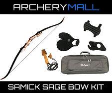 SAMICK Sage Take Down Bow KIT - Right Hand / 45 LBS (CASE, STRINGER, TAB, GUARD)