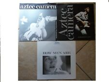 "AZTEC CAMERA JOB LOT OF 12"" SINGLES X 3 SOMEWHERE IN MY HEART ETC ALL PLAY GREAT"