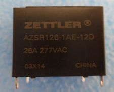 Zettler AZSR126-1AE-12D PCB Mount Relay  lot of 57