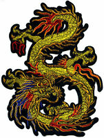 XXL Aufnäher Drache Back Patch Dragon  Rückenaufnäher