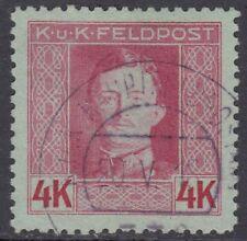 Österreich ungarische Feldpost 1917/18 Nr. 71 B gestempelt Befund VÖB