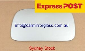 LEFT PASSENGER SIDE MIRROR GLASS FOR NISSAN PULSAR N15 1995-2000