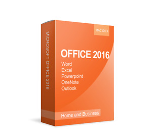 LICENZA x 1 PC, MICROSOFT OFFICE 2016 HOME&BUSINESS x MAC, DVD IN ITALIANO,FATTU