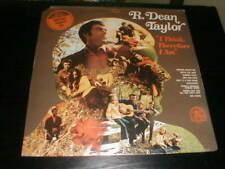 R Dean Taylor SEALED 1970 Lp I Think: Therefore I Am Motown Rare Earth