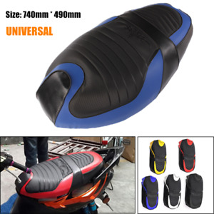 Universal PU Leather Motorcycle Scooter Seat Full Cover Multi-color Soft Cushion