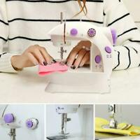 Portable Desktop Mini Electric Sewing Machine Hand Tailor Home Held O6M7