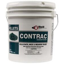 Contrac Bulk Pellets Rodenticide Rat Bait Mouse Bait Vole Bait Rat Killer 25 Lbs