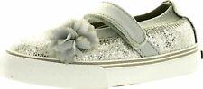 Morgan & Milo Girls Dazzle MJ Fashion Glitter Casual Flats