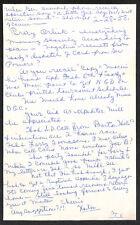 HORTON SMITH 1ST 1934 MASTERS WINNER AUGUSTA NATIONAL SIGNED LETTER BECKETT BAS