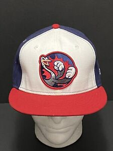 Reading Fighting Phils NEW ERA 59Fifty MILB Genuine Merch 7 3/8 Fitted Hat R/W/B