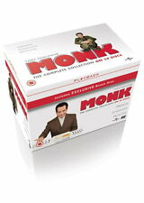 Monk Season 1-8 The Complete Series DVD Tony Shalhoub Boxset Boxed Set New R4