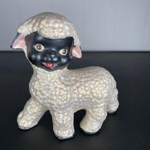 Vintage Kitsch Creepy lamb sheep ~ Handmade