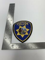 FORTUNA CALIFORNIA POLICE PATCH SHOULDER SIZE
