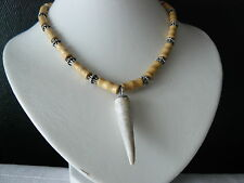 MAGNIFIQUE COLLIER ORIENTAL.AFRICA.COLLIER.TRIBAL ETHNIC NECKLACE COLLIER