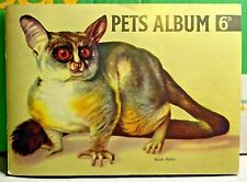 More details for hornimans-teas since 1826-pets album-tea cards-by maxwell knight-1955-complete