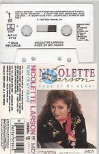 NICOLETTE LARSON cassette K7 tape ROSE OF MY HEART