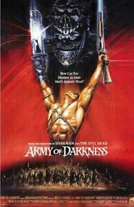 Army of Darkness Movie POSTER 11 x 17 Bruce Campbell, Embeth Davidtz, D
