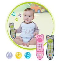 Baby music mobile phone tv remote control early learning educational Toy Braw
