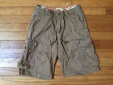 Hollister Men's Khaki Cargo Shorts Size 30