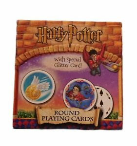 Carta Mundi Harry Potter Round Playing Cards With Special Glitter Card (2001)