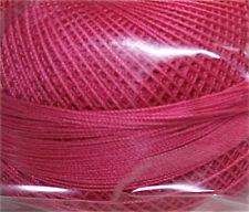 Lizbeth Cordonnet 100% Egyptian Cotton Thread Size 10 Color 620 Medium Azalea