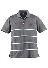 Herren-Polo-Shirt von 4wards  grau meliert Gr.S