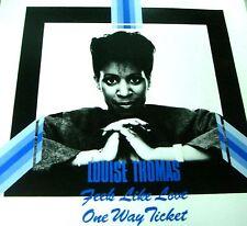 "12"" - Louise Thomas - Feels Like Love (HI NRG) NUEVO - NEW, STOCK STORE MINT"