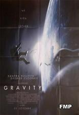 GRAVITY - BULLOCK / CLOONEY / CUARON -ORIGINAL STYLE A LARGE FRENCH MOVIE POSTER