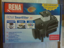 Rena SmartFitler 20, a HOB Filter for Fresh & Salt Water Aquariums NEW!!!