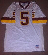 Vtg Heath Shuler Washington Redskins Starter Authentic NFL Jersey 52 Pro Line