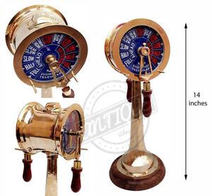 """Vintage Morskoy motornyy kater Telegraf Zakazat' Morskoy stolik 14 """"Podaroc"""