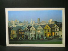 Vintage Table Placemat-Victorian Houses, San Fransisco Old and New, California