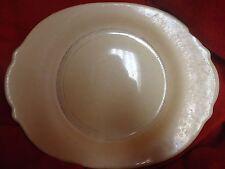 "Vintage, American Limoges, Federal Coral Platter, 15"" #857"