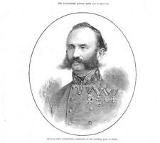 1878 - Portrait BARON PHILIPPOVICK Commander Austrian Army in BOSNIA (058A)