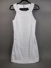 Lily Pulitzer Jubilee White Beaded Squares Shift Dress
