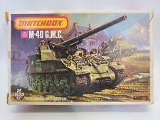 SDG Matchbox PK-86 M-40 GMC Battle Tank Vehicle 1/76 Scale Model Kit NEW